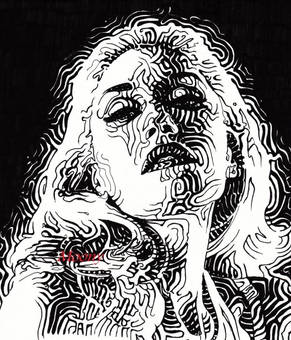 Gwen Stefani by Moony36